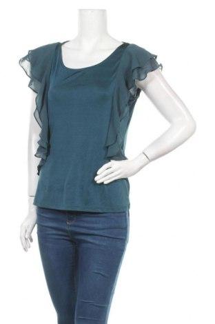 Дамска блуза The Limited, Размер S, Цвят Зелен, 92% полиестер, 8% еластан, Цена 5,15лв.