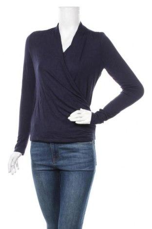 Дамска блуза The Limited, Размер M, Цвят Син, 95% вискоза, 5% еластан, Цена 4,73лв.