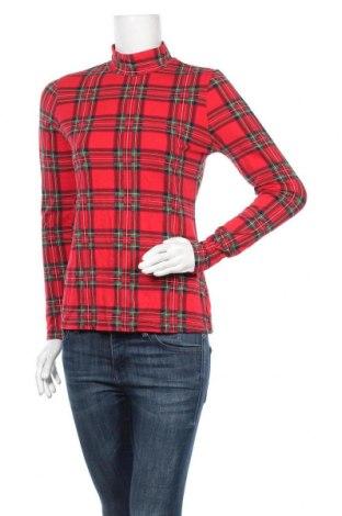 Γυναικεία μπλούζα Time and tru, Μέγεθος M, Χρώμα Πολύχρωμο, 52% βισκόζη, 42% βαμβάκι, 6% ελαστάνη, Τιμή 11,69€