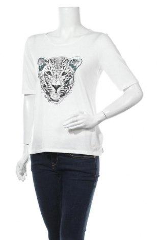 Дамска блуза Tom Tailor, Размер M, Цвят Бял, 65% полиестер, 35% вискоза, Цена 28,56лв.