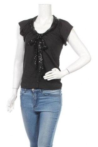 Дамска блуза Tout Feu Tout Femme, Размер S, Цвят Черен, Полиестер, Цена 10,40лв.