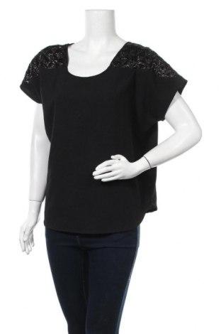 Дамска блуза Traffic People, Размер S, Цвят Черен, 95% полиестер, 5% еластан, Цена 9,98лв.