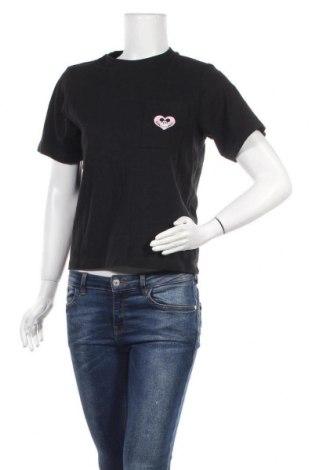 Дамска блуза Uniqlo, Размер M, Цвят Черен, Цена 18,90лв.