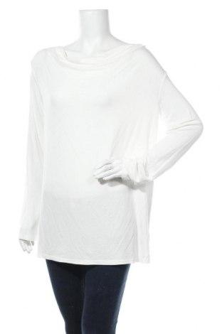Дамска блуза Up 2 Fashion, Размер M, Цвят Бял, 95% вискоза, 5% еластан, Цена 16,07лв.