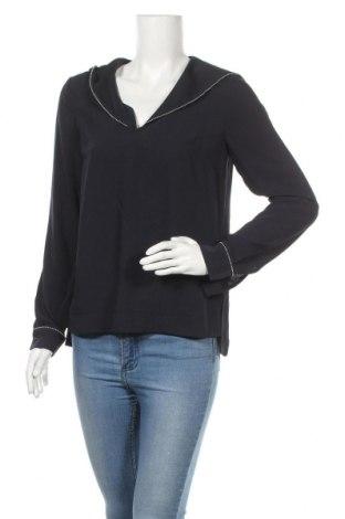 Дамска блуза Warehouse, Размер S, Цвят Син, Полиестер, Цена 15,84лв.