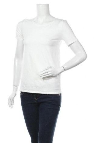 Γυναικεία μπλούζα Weekend Max Mara, Μέγεθος S, Χρώμα Λευκό, 95% βαμβάκι, 5% ελαστάνη, Τιμή 53,40€