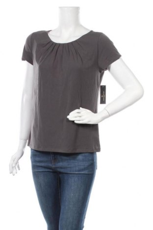 Дамска блуза Worthington, Размер L, Цвят Сив, 95% полиестер, 5% еластан, Цена 28,93лв.