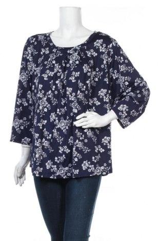 Дамска блуза Worthington, Размер XXL, Цвят Син, 95% полиестер, 5% еластан, Цена 17,85лв.