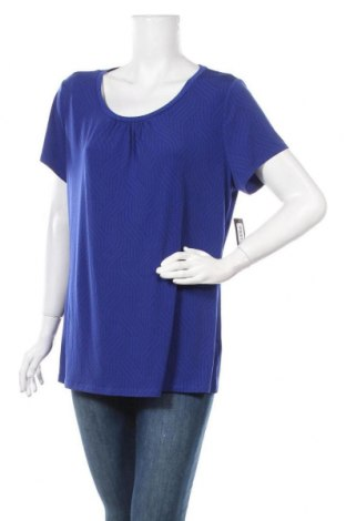 Дамска блуза Worthington, Размер XL, Цвят Син, 95% полиестер, 5% еластан, Цена 21,32лв.