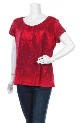 Дамска блуза Worthington, Размер XL, Цвят Червен, 95% полиестер, 5% еластан, Цена 12,50лв.