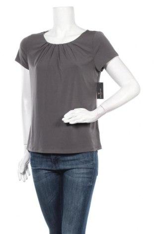 Дамска блуза Worthington, Размер L, Цвят Сив, 95% полиестер, 5% еластан, Цена 26,46лв.