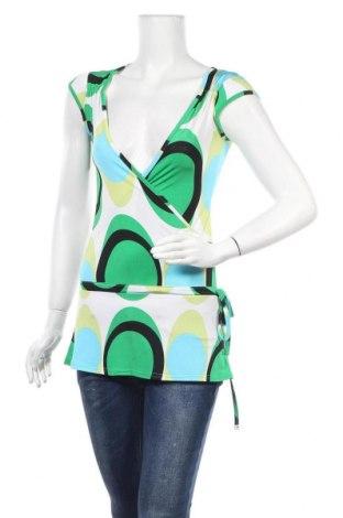 Дамска блуза Zebra, Размер L, Цвят Многоцветен, Цена 8,03лв.