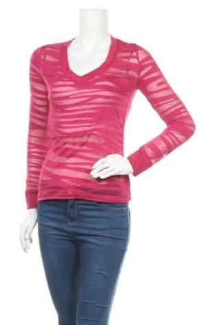 Дамска блуза Zenana Outfitters, Размер L, Цвят Розов, 60% памук, 40% полиестер, Цена 17,64лв.