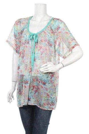 Дамска блуза Zhenzi, Размер XL, Цвят Многоцветен, Полиестер, Цена 14,28лв.