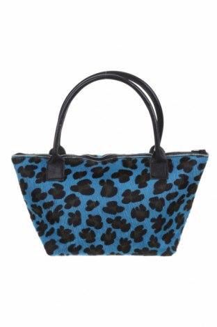 Дамска чанта, Цвят Син, Естествен косъм, Цена 55,34лв.