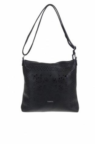 Γυναικεία τσάντα, Χρώμα Μαύρο, Δερματίνη, Τιμή 13,64€