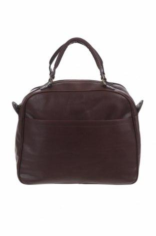 Γυναικεία τσάντα, Χρώμα Καφέ, Γνήσιο δέρμα, Τιμή 53,74€