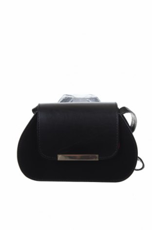 Дамска чанта ASOS, Цвят Черен, Естествена кожа, Цена 41,30лв.