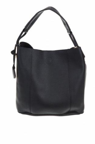 Дамска чанта Beverly Hills Polo Club, Цвят Черен, Еко кожа, Цена 67,16лв.
