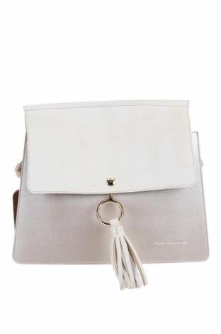 Дамска чанта Beverly Hills Polo Club, Цвят Бежов, Еко кожа, Цена 47,17лв.
