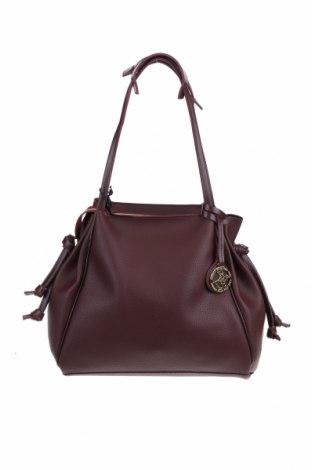 Γυναικεία τσάντα Beverly Hills Polo Club, Χρώμα Κόκκινο, Δερματίνη, Τιμή 41,71€
