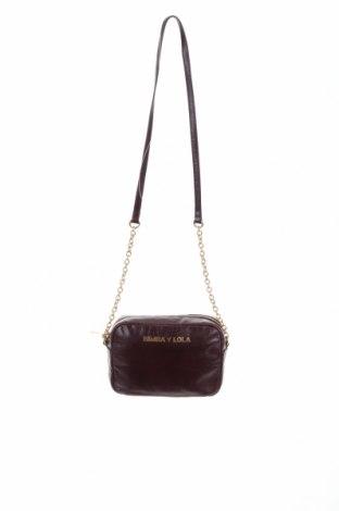Дамска чанта Bimba Y Lola, Цвят Лилав, Естествена кожа, Цена 125,95лв.