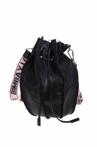 Γυναικεία τσάντα Bimba Y Lola, Χρώμα Μαύρο, Γνήσιο δέρμα, Τιμή 104,00€