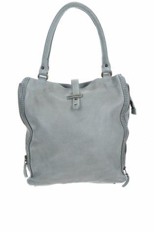 Дамска чанта Bull & Hunt, Цвят Зелен, Естествена кожа, Цена 186,45лв.