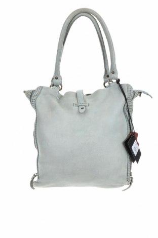 Дамска чанта Bull & Hunt, Цвят Зелен, Естествена кожа, Цена 191,95лв.
