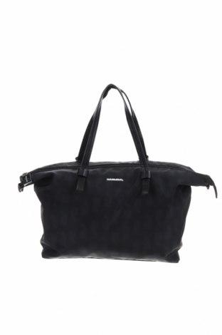 Дамска чанта Comma,, Цвят Черен, Текстил, Цена 56,84лв.