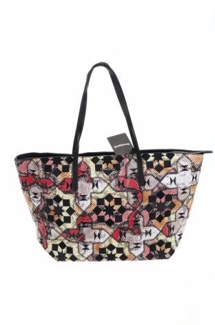 Дамска чанта Desigual, Цвят Многоцветен, Еко кожа, Цена 114,92лв.