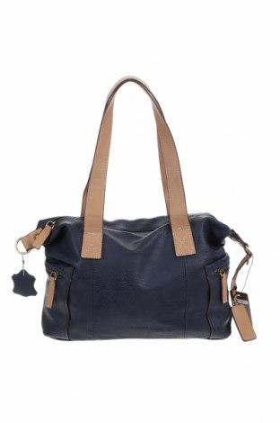 Дамска чанта El Potro, Цвят Син, Еко кожа, Цена 80,92лв.