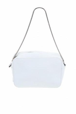 Дамска чанта Emporio Armani, Цвят Бял, Естествена кожа, Цена 202,95лв.