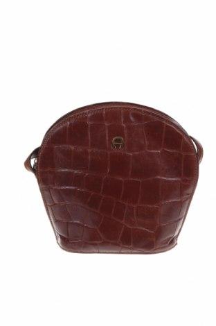 Γυναικεία τσάντα Etienne Aigner, Χρώμα Καφέ, Γνήσιο δέρμα, Τιμή 61,49€