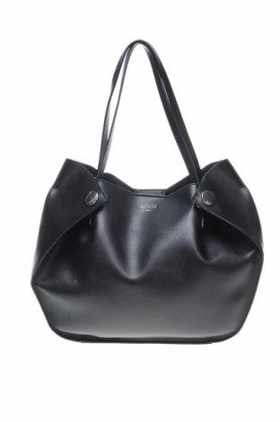 Дамска чанта Guess, Цвят Черен, Еко кожа, Цена 162,52лв.