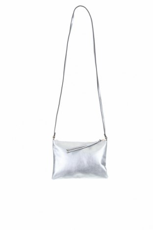 Дамска чанта H&M, Цвят Сребрист, Еко кожа, Цена 18,48лв.