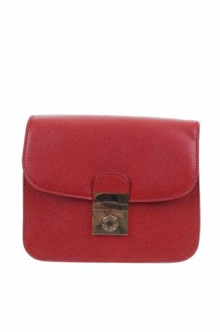 Дамска чанта Lydc London, Цвят Червен, Еко кожа, Цена 23,21лв.