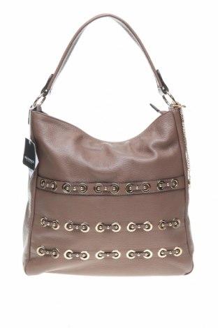 Γυναικεία τσάντα Mia Tomazzi, Χρώμα Καφέ, Γνήσιο δέρμα, Τιμή 81,93€