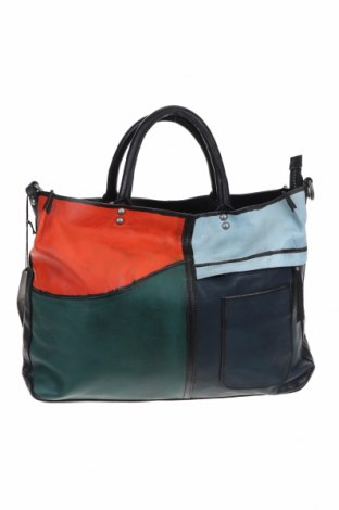 Дамска чанта Nero Pantera, Цвят Черен, Естествена кожа, Цена 237,32лв.