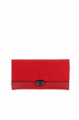 Дамска чанта New Look, Цвят Червен, Текстил, еко кожа, Цена 20,16лв.
