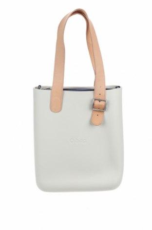 Γυναικεία τσάντα O bag, Χρώμα Εκρού, Πολυουρεθάνης, Τιμή 46,27€