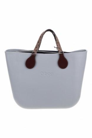 Γυναικεία τσάντα O bag, Χρώμα Γκρί, Πολυουρεθάνης, Τιμή 52,22€