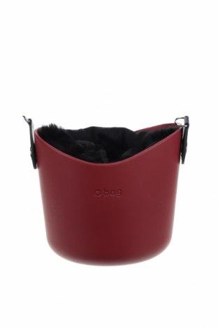 Γυναικεία τσάντα O bag, Χρώμα Κόκκινο, Πολυουρεθάνης, Τιμή 49,87€