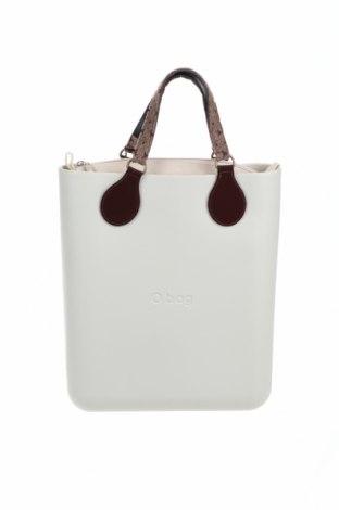 Γυναικεία τσάντα O bag, Χρώμα Εκρού, Πολυουρεθάνης, Τιμή 53,74€