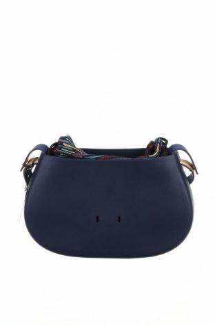 Γυναικεία τσάντα O bag, Χρώμα Μπλέ, Πολυουρεθάνης, Τιμή 46,01€
