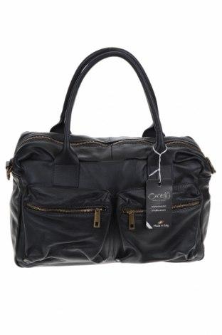 Γυναικεία τσάντα Ore10, Χρώμα Μαύρο, Γνήσιο δέρμα, Τιμή 131,06€
