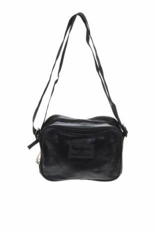Дамска чанта Pepe Jeans, Цвят Черен, Еко кожа, Цена 101,32лв.