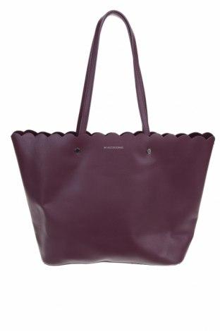 Дамска чанта Reserved, Цвят Лилав, Еко кожа, Цена 48,30лв.