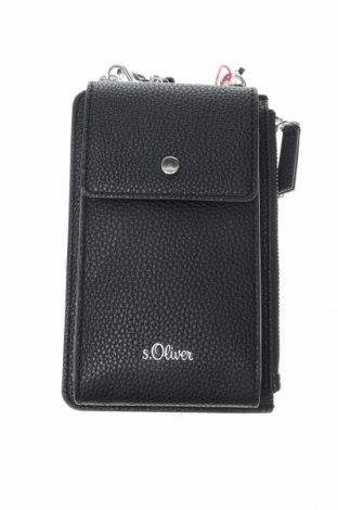 Дамска чанта S.Oliver, Цвят Черен, Еко кожа, Цена 39,50лв.