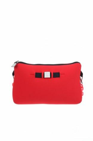 Дамска чанта Save My Bag, Цвят Червен, Текстил, Цена 33,08лв.